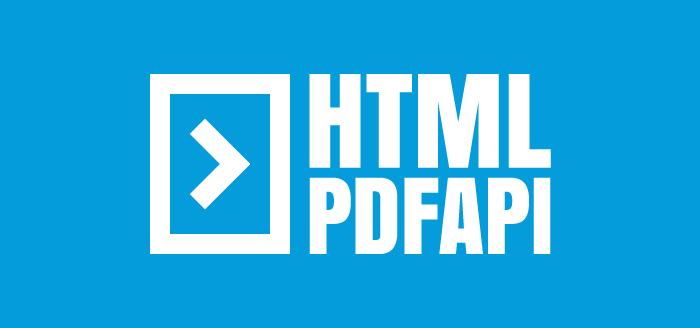 HTML PDF API - About HTML to PDF API service - Press kit